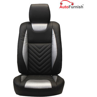 Autofurnish (PL-204 Domino) Mahindra Scorpio 8S Custom-fit Leatherette 3D Car Seat Covers