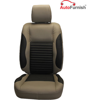 Autofurnish (PL-207 Cave) Maruti S-Cross Custom-fit Leatherette 3D Car Seat Covers