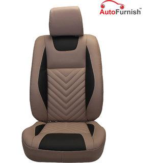 Autofurnish (PL-204 Domino) Ford Figo Custom-fit Leatherette 3D Car Seat Covers