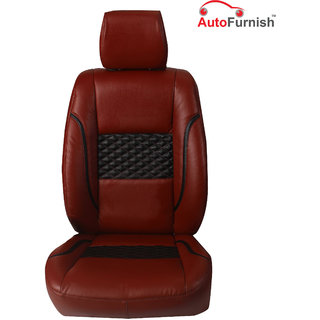 Autofurnish (PL-201 Poise) Maruti Swift Dzire Old Custom-fit Leatherette 3D Car Seat Covers