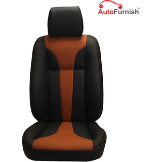 Autofurnish (PL-203 Tango) Mahindra TUV300 Custom-fit Leatherette 3D Car Seat Covers