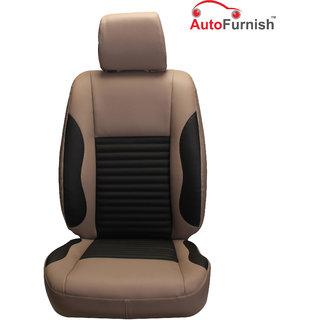Autofurnish (PL-207 Cave) Hyundai Creta Custom-fit Leatherette 3D Car Seat Covers