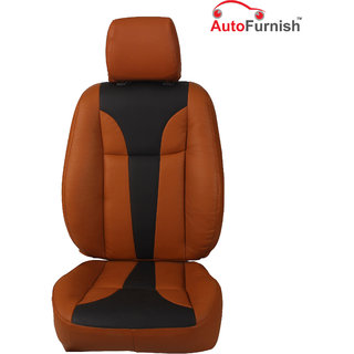 Autofurnish (PL-203 Tango) Honda Amaze 2013-14 Custom-fit Leatherette 3D Car Seat Covers