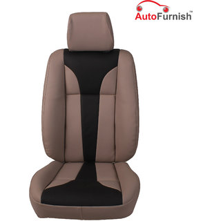 Autofurnish (PL-203 Tango) Volkswagen Cross Polo Custom-fit Leatherette 3D Car Seat Covers