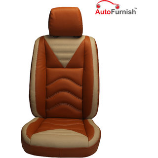 Autofurnish (PL-206 Vibro) Toyota Etios Cross Custom-fit Leatherette 3D Car Seat Covers