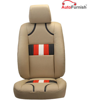 Autofurnish (PL-205 Bronco) Maruti Swift Old Custom-fit Leatherette 3D Car Seat Covers