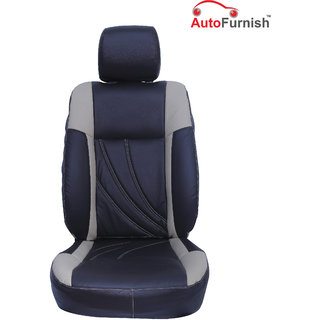 Autofurnish (PL-208 Petal) Maruti Omni (2005-14) Custom-fit Leatherette 3D Car Seat Covers