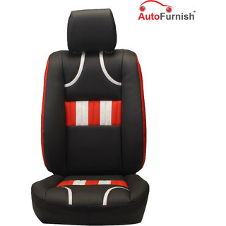 Autofurnish (PL-205 Bronco) Ford Figo Custom-fit Leatherette 3D Car Seat Covers