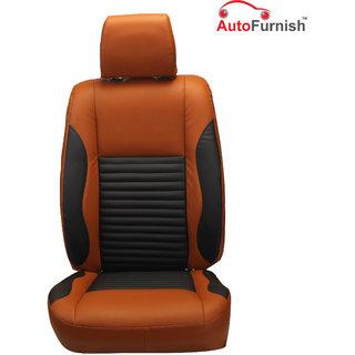 Autofurnish (PL-207 Cave) Mahindra Scorpio 7S (2015) Custom-fit Leatherette 3D Car Seat Covers