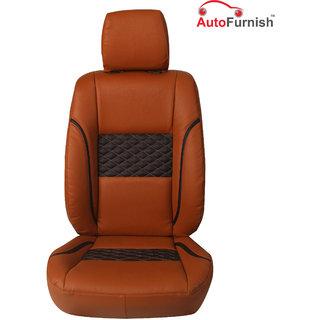 Autofurnish (PL-201 Poise) Tata Nano Custom-fit Leatherette 3D Car Seat Covers