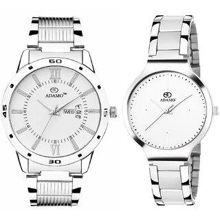 ADAMO Designer Men's Wrist Watch 812-816SM01
