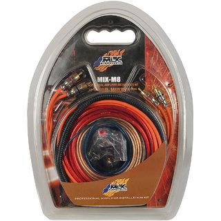 Mtx Audio Mix M-8 Professional Amplifier Installation Wiring Kit - 8 Guage
