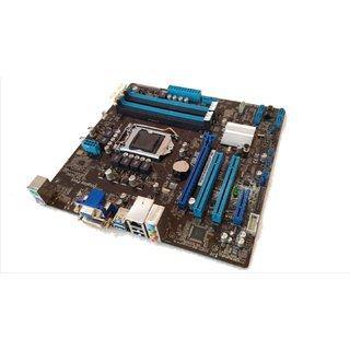 ASUS P8B75-M/BM6635/DPMB LGA 1155 Intel B75 MB (BROWN PACK) USB 3.0  MICRO ATX.