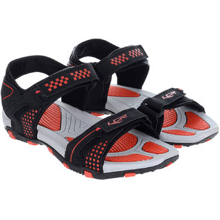 47b5753f8810 Buy Lancer Black Red Sandals Online   ₹499 from ShopClues