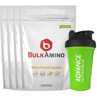 Advance Nutratech Bulkamino Whey Protein Isolate 4kg Un
