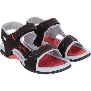 cf3651780334 Buy Lancer Black Red Sandals Online - Get 0% Off