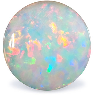 jaipur gemstone 7.00 ratti opal (fire opal)