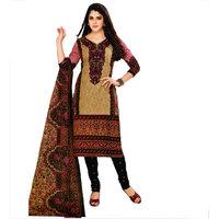 Miraan Multicolor Cotton Printed Dress Material