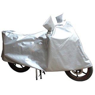 HMS Bike body cover UV Resistant  for Honda CB Shine SP - Colour Silver