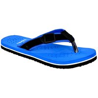 Altek Comfort Orthopedic Blue Flip Flops For Men (foot-