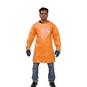 Saviour Chemguard Apron with Sleeves