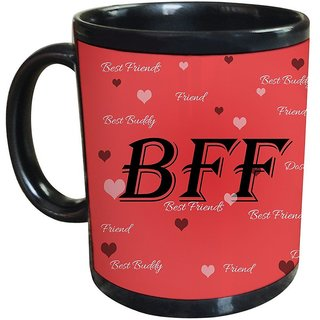 Tied Ribbons Gift for best friend forever printed Coffee mug(325 ml)