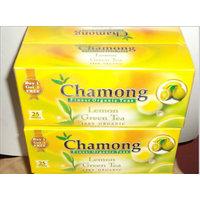 CHAMONG DARJEELING GREEN BUY 2 GET 2 FREE 25X4=100 TEA BAGS