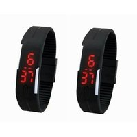 Buy 1 Get 1 Free Digital LED Sports Watch For Boys And