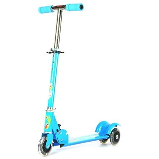 Takson Sales Blue 3 Wheels Kids Foldable Scooter(5-8 years,9-12 Years)