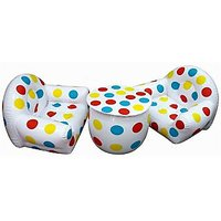 Toyzone - Inflatable Sofa Set (Polka Dots)
