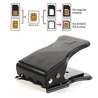 New All In One 3 Ways Micro/Nano Sim Card Cutter For Apple IPhone 4 4S