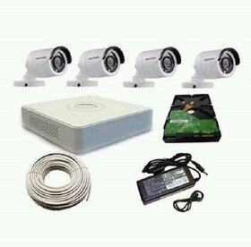 4 CH DVR kit includes 500 gb hard disk