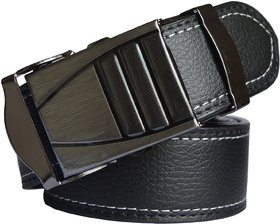 Black Leatherite Men's Belt