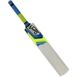 kookabura popular willow cricket bat lemon yellow