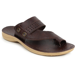 Adreno Mens Sultan 2 Brown sandels