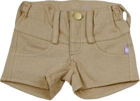 Hugabug Denim Loop-Knit Short in Organic Cotton