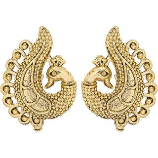 The Luxor Designer Peacock Inspierd Dangle Earrings