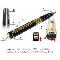 Spy Pen Hidden camera with HD quality 5.0 MP audio and video recording