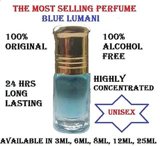 Most Recommended Highly Concentrated Original Attar Unisex Perfume BLUE LUMANI
