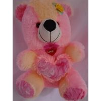 AGS 75- Teddy Bear Big Size, Kid, Valentine, Love, Diwali Gift,color Pink
