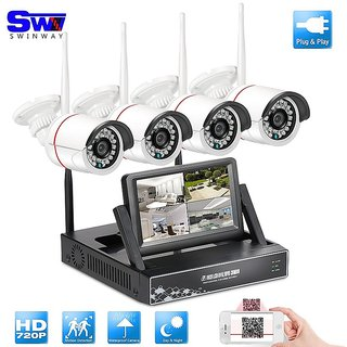 4Channel Wifi Security Camera