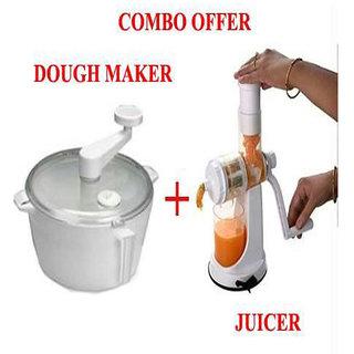 Push Cart Juicer And Dough Maker Combo