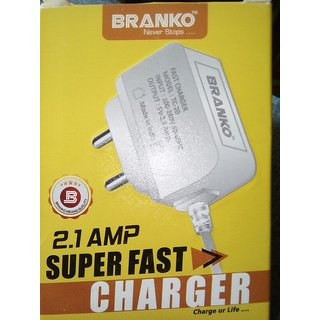 Original 2.1 amp fast charger for smartphones