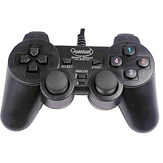 Quantam QHMPL QHM7468 USB Vibration Game Pad Remote Joystick