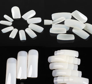 100 Pc Fake Nails Nail Art False French Acrylic Artificial Decoration
