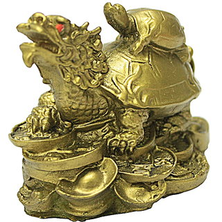 iDeals Fengshui wealth tortoise on dragon for prosperity and wealth