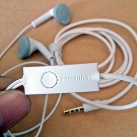 Samsung Ehs61 In Earphones Wired Headset White Best Quality