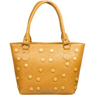 Louise Belgium Durable Handbag For Women Casual Use College Office Premium Clutch Purses Yellow Lb 679
