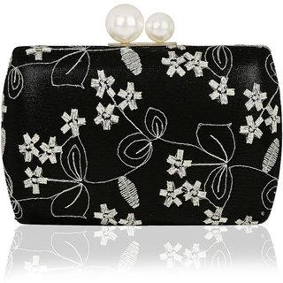Kleio Designer Elegant Party / Wedding Box Clutch for Women