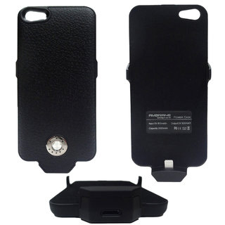 Ambrane Charging Case CC-51 for Iphone 5/5s  (Black )